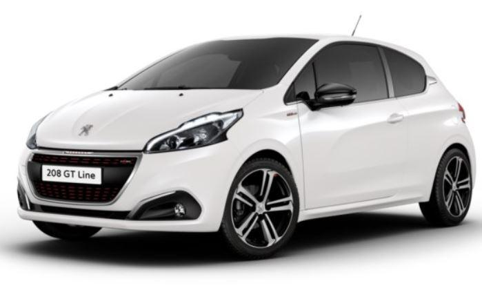 peugeot 208 gt line 1 6 bluehdi 120cv 3 portes auto direct import. Black Bedroom Furniture Sets. Home Design Ideas