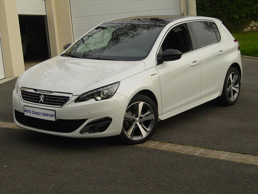 peugeot 308 gt line 1 2 puretech 130cv eat6 auto direct import. Black Bedroom Furniture Sets. Home Design Ideas