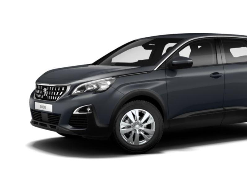 peugeot 3008 active 1 5 bluehdi 130cv auto direct import. Black Bedroom Furniture Sets. Home Design Ideas